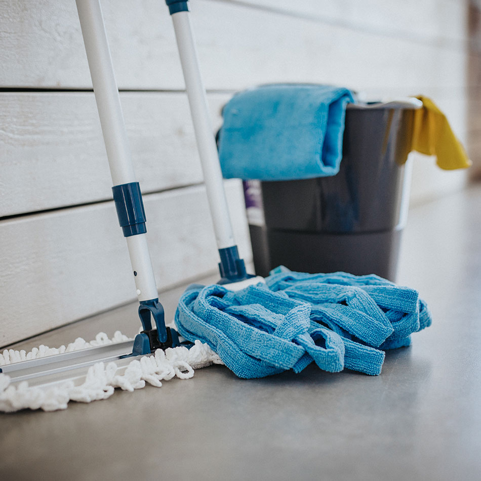 Cleaning products for floors and windows